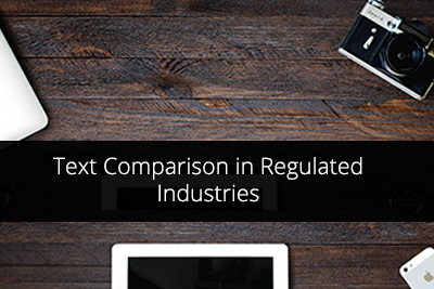 Text Comparison in Pharma Industry