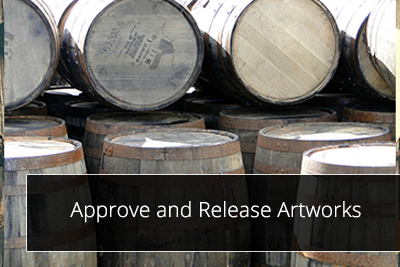 Approve and Release Artworks