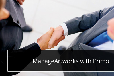 ManageArtworks with Primo