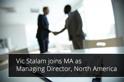 Vic Stalam joins MA as Managing Director, North America