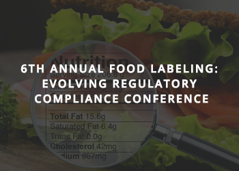 ManageArtworks at the 6th Annual Food Labeling Conference
