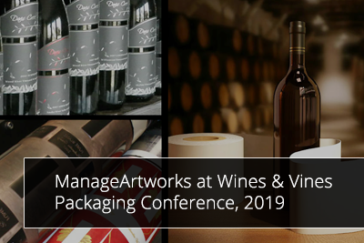 ManageArtworks checks in at the Wines & Vines Packaging Conference, 2019