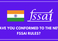 fssai rules